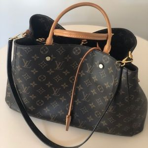 Authentic Louis Vuitton Montaigne GM